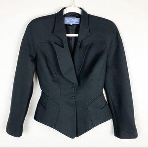 Thierry Mugler Vintage Black Blazer Jacket